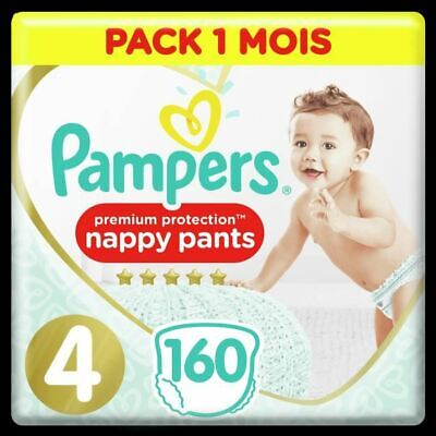 PAMPERS Premium Protection Pants T4 X160 Pack 1 Mois