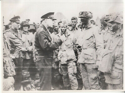 WWII PHOTO 101ST Airborne Band of Brothers Carentan WW2 D