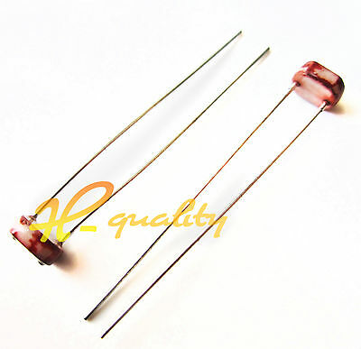 50pcs Photoresistor LDR CDS 5mm Light Resistor Sensor GL5516 Arduino