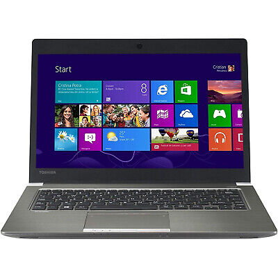 "NOTEBOOK PORTATILE TOSHIBA PORTEGE 13.3"" CORE i7 RAM 8GB SSD 256GB TOUCHSCREEN"