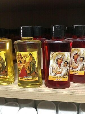 Mary Magdalena 100% Nard Anointing Oil From Jerusalem The Holy Land 2 Bottles