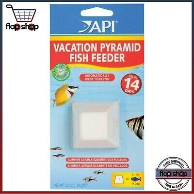 Pyramid Automatic Fish Feeder For Vacation Up To 14 Days, Natural Ingredient