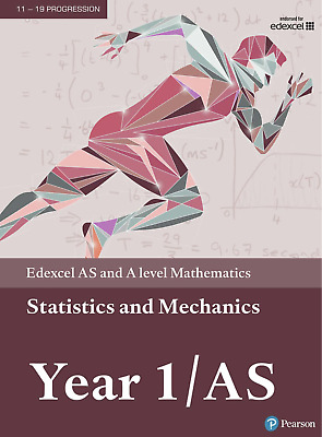 Edexcel AS and A level Mathematics Statistics and Mechanics 1 PDF VERSIONS