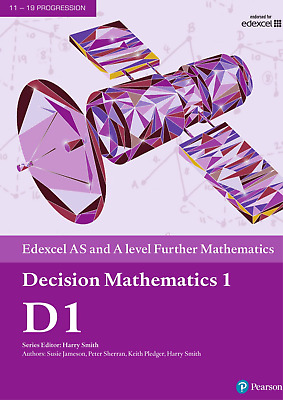 Edexcel AS and A level Further Mathematics Further Decision 1 PDF Version