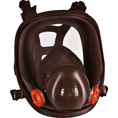 3M 6000 series full face mask reusable respiratory protection & lens covers