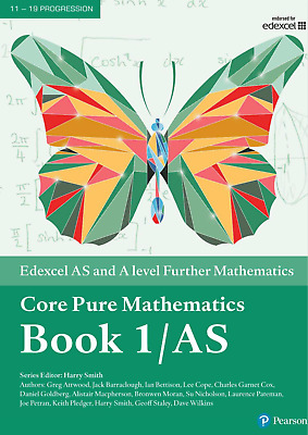 Edexcel AS and A level Further Mathematics Core Pure 1 PDF Version