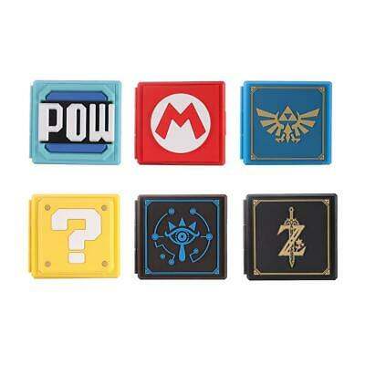 #QZO Game Card Case Storage Box Game Memory Card Holder for Nintend Switch NS