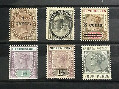 British Commonwealth Queen Victoria MINT Collection  # SB46