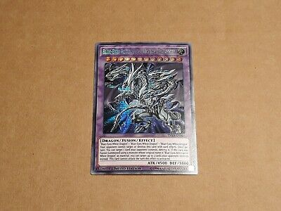 Yu-Gi-Oh! Blue-Eyes Alternative Ultimate Dragon Prismatic Secret Rare TN19-EN001