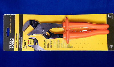 Klein Tools D502-10-INS Insulated Pump Pliers 10'' (254 mm)