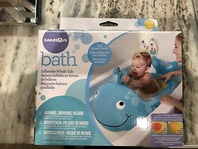 Inflatable Whale Tub from Babies-R-Us / Never Open