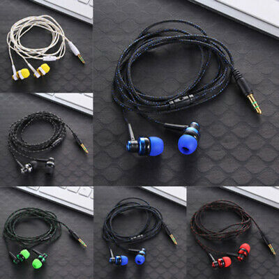 Auriculares Cascos En Oido Estereo Earphone PARA Tablet iPod Samsung S9 IPHONE
