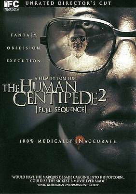 The Human Centipede 2: Full Sequence-Unrated Directors Cut- DVD-Region 1