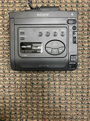 SONY GV-300 8MM Video Walkman Stereo HiFi Hi8 Player