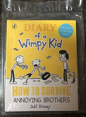 Diary Of A Wimpy Kid,How To Survive Annoying Brothers,McDonald's Happy Meal Book