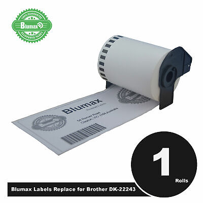 Blumax Compatible Brother for DK22243 Continuous Roll-102mmx30.45m QL1060N