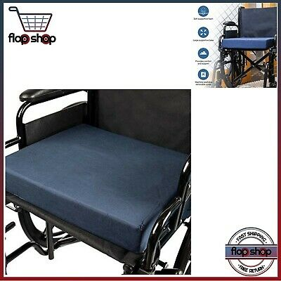 Foam Seat Cushion Wheelchair Car Chair Replacement Firm Support Comfort Height