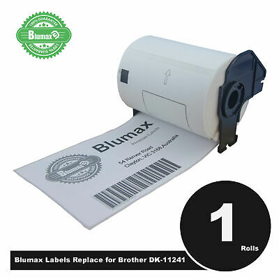 Blumax Large Shipping Label For Brother DK11241 152X102mm QL1050 QL1060