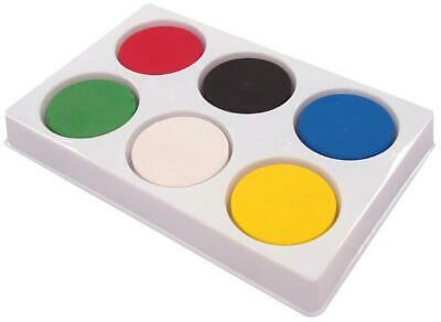 6 Well Paint Palette with Paint Blocks - MAJOR BRUSHES