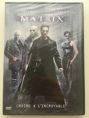 Matrix DVD NEUF SOUS BLISTER Keanu Reeves, Laurence Fishburne