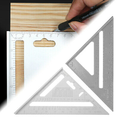 Scratcher Square Ruler Tri-Line Saw Guide Miter Speed Triangle Protractor