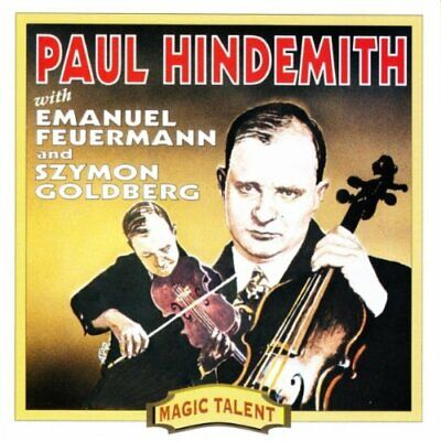 Hindemith Plays Hindemith -  CD CUVG The Cheap Fast Free Post The Cheap Fast