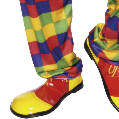 Clown Shoes Red and Yellow Deluxe Accessory