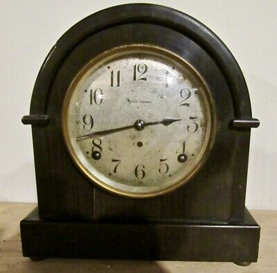 Antique Seth Thomas Mantle/Shelf Clock-  Runs and Chimes Well
