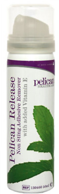 Pelican Release Non-Sting Adhesive Remover with Vit E- 50ml **FREE UK Delivery
