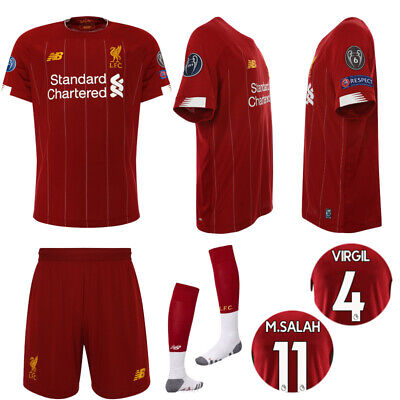 19/20Liverpool Football Kit Soccer Suits Jerseys For Kids 3-14Yrs Adult Outfits