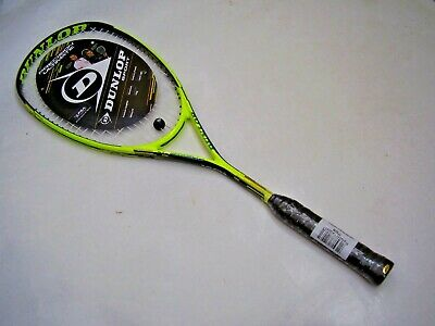 New! Dunlop Precision Ultimate Hl Squash Racquet & Full Cover