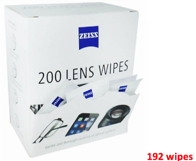 Zeiss Lens Cleaning Wipes / 192 Sachet pack - Glasses, iphone, screen