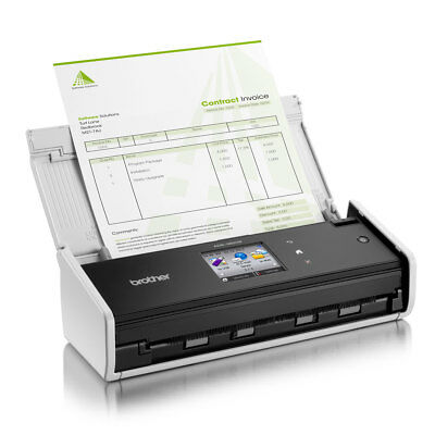 Scanner compact recto verso ads1600 w usb ou wifi