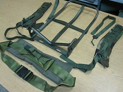 New Alice Pack Frame, Kidney Pad and Shoulder Straps LC-1 LC-2 Genuine Issue USA
