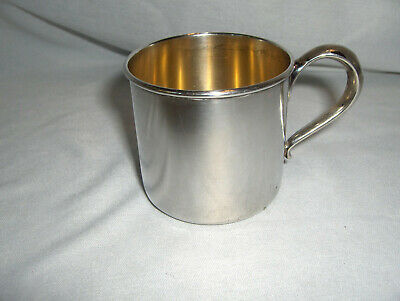 Vintage Rogers Lunt Bowen RLB Sterling Silver Baby Cup NICE