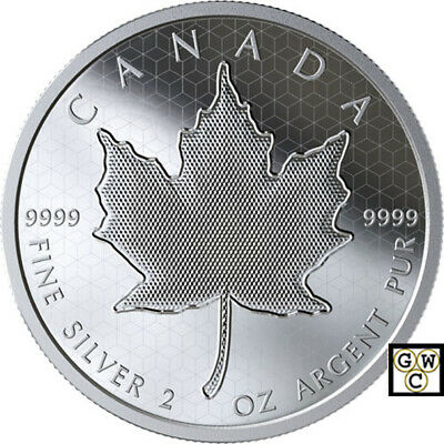 2020 'Pulsating Maple Leaf' Proof $10 Silver Coin 2oz .9999 Fine (18818) (NT)