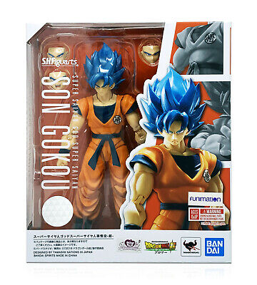 Bandai Tamashii Dragon Ball Super S.H.Figuarts Super Saiyan God Goku In Stock