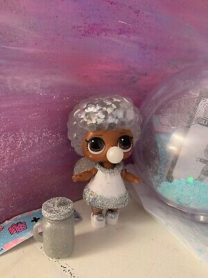 LOL Surprise Winter Disco - Glitter Globe - Bashful Q.T. QT - Authentic