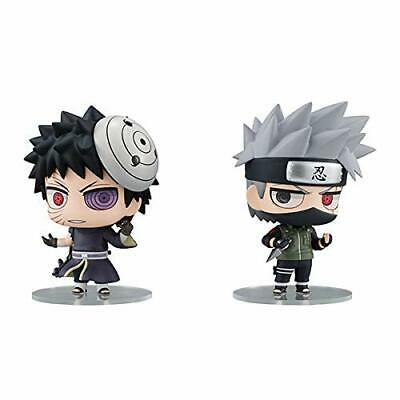 Pre-sale NARUTO Shippuden Chimi Mega Buddy series Kakashi & Obito Figure Set