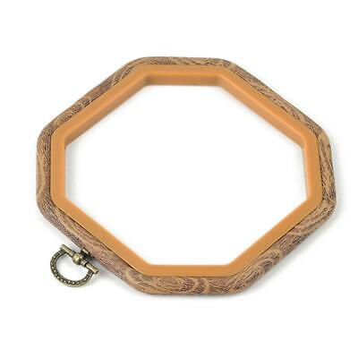 Durable Simulation Wood Hand Embroidery Cross Stitch Ring Hoop Frames DIY Craft