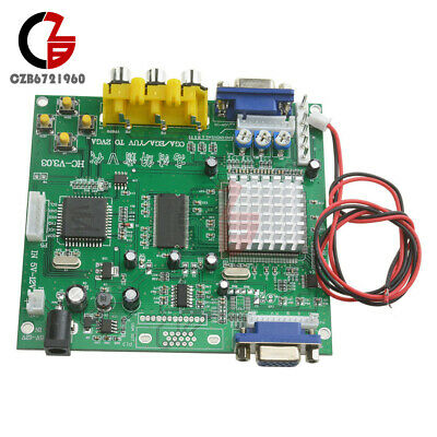 Arcade Game HD Video Converter Board RGB/CGA/EGA/YUV to VGA HD9800/GBS8200 DIY