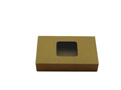 12x Natural Standard Tealight boxes (holds 6 tealights in each box)