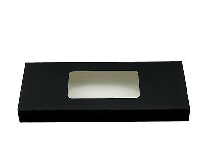 12x Black Standard Tealight boxes (holds 10 tealights in each box)