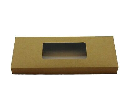 12x Natural Standard Tealight boxes (holds 10 tealights in each box)