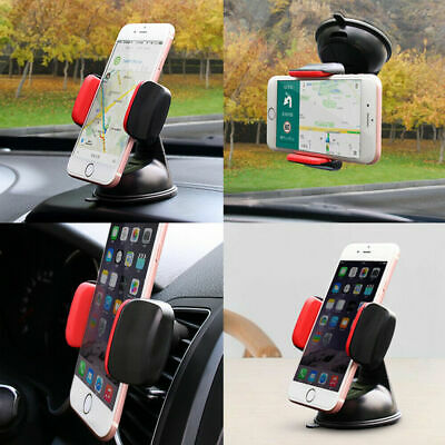 Universal 360° Car Mobile Phone Holder Mount Windscreen Dashboard Suction Home