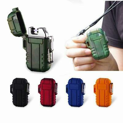 USB Electric Lighter Dual Arc Cigarette Plasma Rechargeable Windproof Flameless-