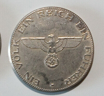 1934 Hitler Germany Exonumia Coin #8 Free Coins