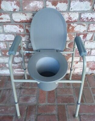 Excellent Carex Folding Commode Portable Toilet For Adults And Theyellowbook Wood Chair Design Ideas Theyellowbookinfo