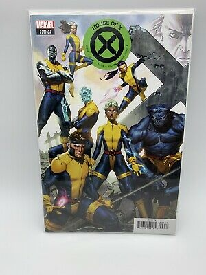 House Of X #4 Molina Connecting Variant Nm Marvel Comics 2019