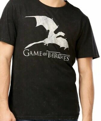 Game Of Thrones Mens Tshirt Hbo Licensed Size Xxl Dragon
